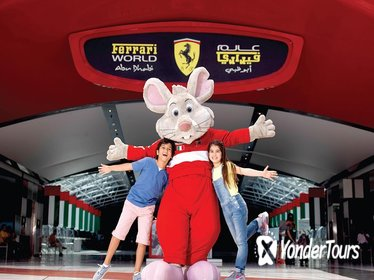 Entrance Ticket Ferrari World Abu Dhabi