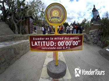Equator Line and Pululahua Crater Private Half Day Tour