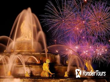 Exclusive Night at Versailles Palace with Fireworks and Fountains Show Including Dinner