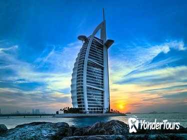 Exclusive Private Dubai Tour with Burj Khalifa and Burj Al Arab SKY Cocktails from Abu Dhabi
