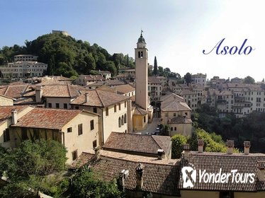 From Venice, discover the romantic Asolo and the Prosecco hills