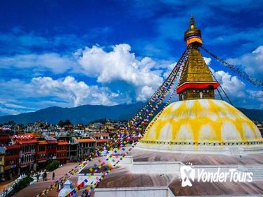 Full Day Private Sightseeing Tour of Pashupatinath Boudhanath and Bhaktapur City