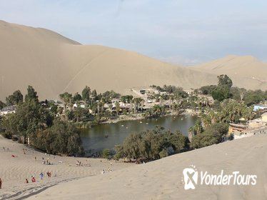 Full day: Ballestas, Nazca Lines & Huacachina Oasis