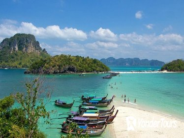 Full-Day Krabi Island-Hopping Tour by Speedboat From Phuket