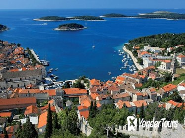 Full-Day Private Hvar, Brac, and Pakleni Islands Boat Cruise from Trogir