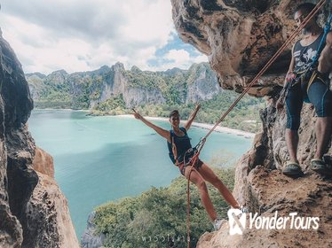 Full-Day Private Rock Climbing at Railay Beach in Krabi