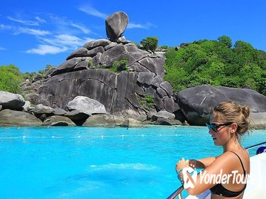 Full-Day Similan Island by Speedboat from Phuket