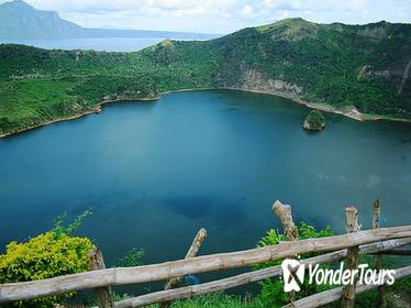 Full-Day Taal Volcano Trekking and Horse-Riding Tour Including Lunch