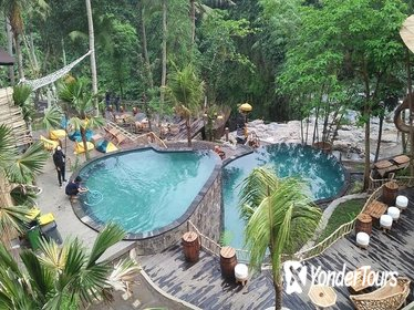 Giant swing,Juggle Pool,Waterfall,River club and Lunch
