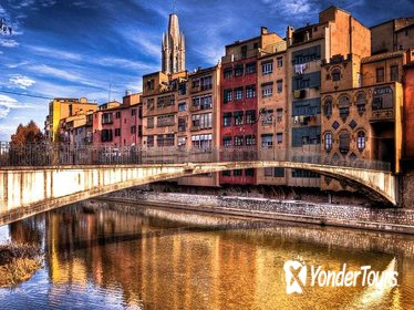 Girona City and County Guided Private Day Trip From Barcelona