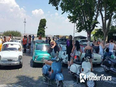 Gleaming Italian Classic Car Tour in half day discovering The Best of Rome