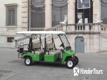 Golf Cart Around Imperial Rome