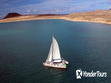 Graciosa Marine Reserve Catamaran Day Trip with Transfers