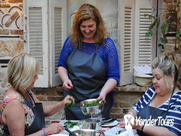 Greek Small-Group Cooking Class in an Athens Tavern
