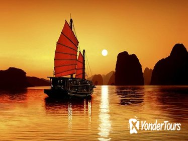 Group Halong Bay Day Cruise Including Hotel Transfers from Hanoi