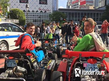 Guided Go-Kart Tour Experience on the Streets of Tokyo