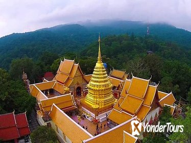 Half Day Tour of Wat Doi Suthep & Phu Ping Palace from Chiang Mai