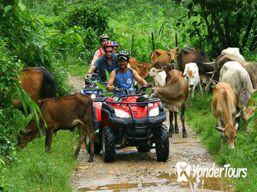 Half-Day Adventure: ATV 4x4, River Cave, Waterfall and Dominican Culture