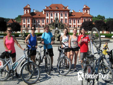 Half-Day Bike Tour from Prague to Troja Chateau