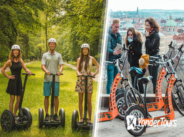 Half-Day Combined Segway and E-Scooter Tour in Prague