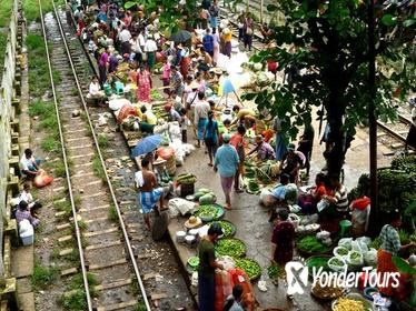 Half-Day Traditional Market Tour by Yangon Circular Train