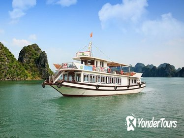 Halong Bay Cruise one day on luxury Boat