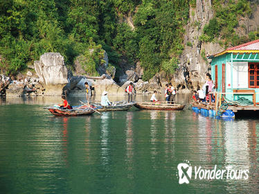 Halong Bay Cruise with Bamboo Boat Ride or Kayaking
