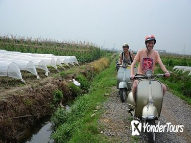 Hanoi discovery for half day by VESPA motorbike
