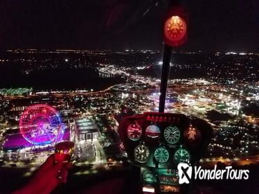 Helicopter Night Tour Over Orlando's Theme Parks