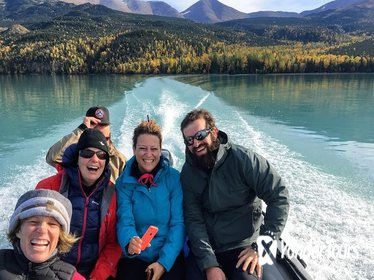 Hiking Tour in Kenai National Wildlife Refuge with Scenic Boat Ride