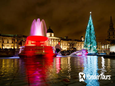 Historic and Modern London on Christmas Eve