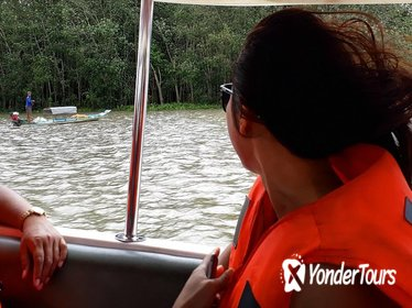 Ho Chi Minh city to Cu Chi tunnels by speed boat in the afternoon