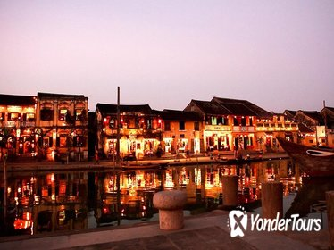 HOIAN town with RED BRIDGE VIETNAMESE COOKING CLASS - BOAT RIDE and WALKING TOUR