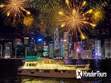 Hong Kong Chinese New Year Firework Cruise - Traditional Yacht