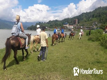 Horse Riding From Pokhara Lakeside to Sarangkot | Pony trek in Pokhara, Nepal