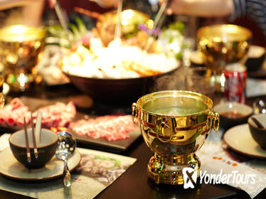 Hot Pot Dining Experience with Hot Spring Bathing or River Cruise in Shanghai