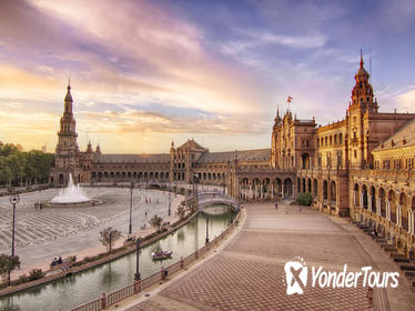 Ibero-American Exposition of Seville Guided Tour and River Cruise