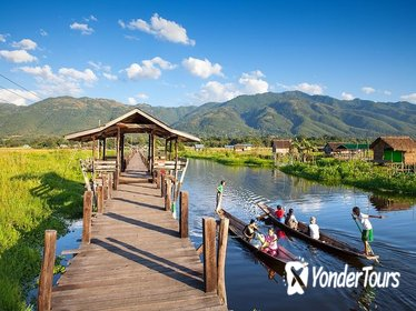 Inle Lake Bike, Boat and Kayak Tour