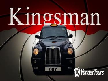James Bond 007, The Kingsman, plus Spies and Villains Black Taxi Tour