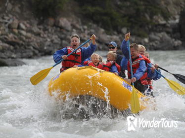 Jasper Rafting Trip on Athabasca River Mile 5