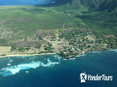 Kalaupapa Saint Damien Air and Ground Tour- Maui Departure