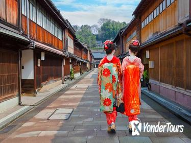 Kanazawa Private Customized Tour from Kanazawa (8 or 5 hour option)