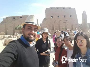 karnak and luxor temples east bank of Luxor guided tour