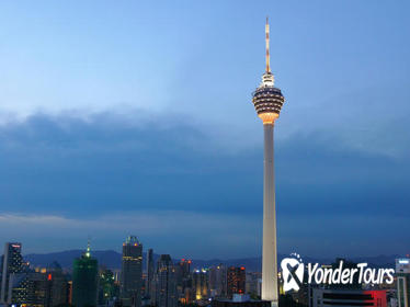KL Tower Revolving Restaurant Buffet Dinner and Central Market Night Tour