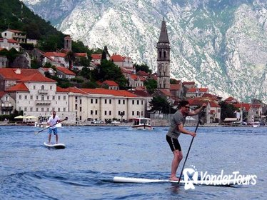 Kotor Riviera Stand-Up Paddling and Bike Adventure