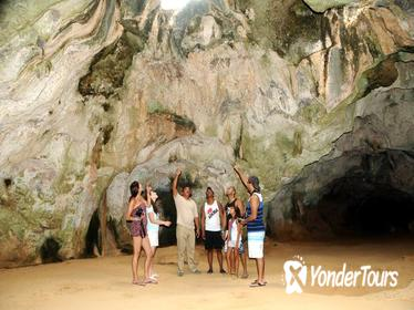 Landmarks of Aruba Including Arikok National Park and Arashi Beach