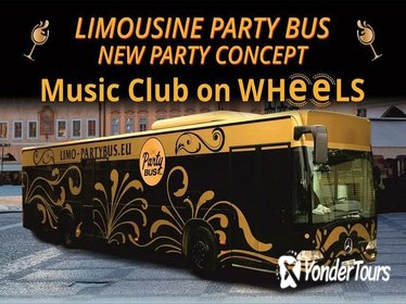 Limousine Party Bus in Prague, Czech Republic