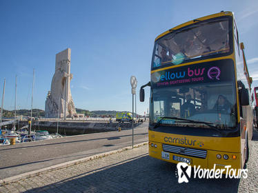 Lisbon Hop-On Hop-Off Bus Tour and River Cruise