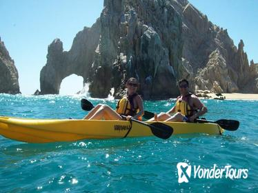 Los Cabos Arch and Playa del Amor Tour by Glass-Bottom Kayak