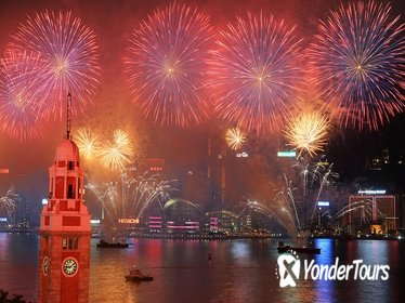 Lunar (Chinese) New Year Firework Cruise with Luxury Yacht